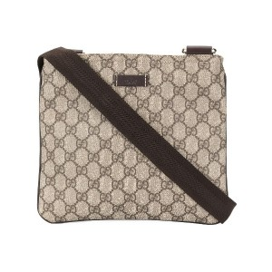 Gucci Pre-Owned GGショルダーバッグ - ブラウン