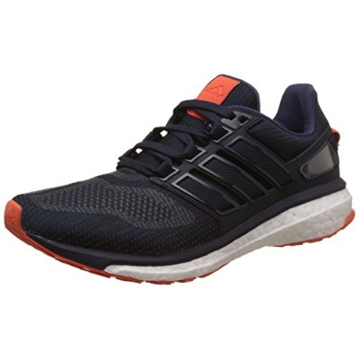 Adidas Energy Boost 3 M [BB5786] Men Running Shoes Navy/Grey-Orange-095