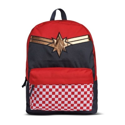【VANSアパレル】 ヴァンズ バックパック・リュック CAPTAIN MARVEL REALM BACKPACK VN0A3QXFIZQ RACING RED