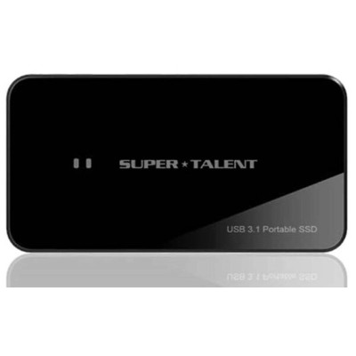 SuperTalent USB3.1 Portable RAID Drive(Read 最大750MB/Sec Write 最大700MB/Sec!) 960GB 外付けSSD FUW960UCU0