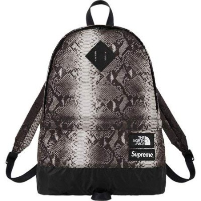 "Supreme®The North Face® Snakeskin Lightweight Day Pack "" Black"" 18SS (シュプリーム ノースフェイス スネークスキン..."