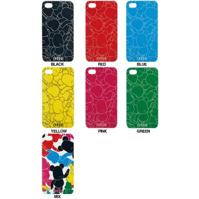 BE@RBRICK(ベアブリック)back cover for iPhone4