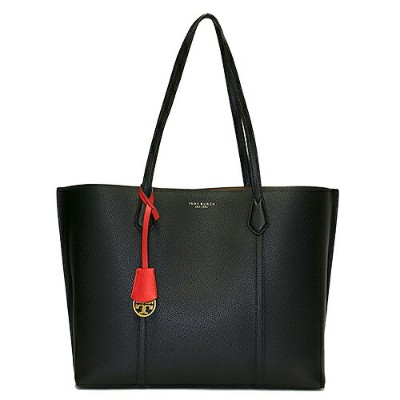 TORY BURCH トリーバーチ トートバッグ BLACK ブラック PERRY TRIPLE COMPARTMENT TOTE 53245 001 【楽ギフ_包装】【送料無料】