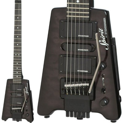 "Steinberger Spirit GT-PRO ""QUILT TOP"" DELUXE (TB/Trans Black)"