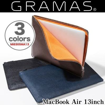 GRAMAS Meister Leather Sleeve Case MI8305MA13 for MacBook Air 13インチ(Early 2015/Early 2014/Mid 2013...