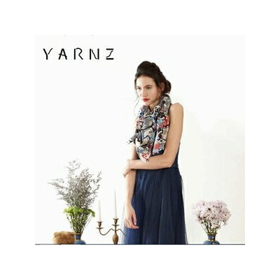 【YARNZ】2016AW ヤーンツ カシミア ウール ストール 秋冬 Pieces Chinese Checkers 大判ストール 秋冬 カシミヤ YARNZ NEWYORK【送料無料】プレゼント...