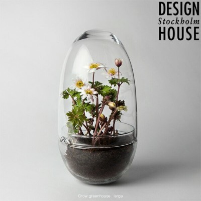 【SALE!クーポンで15%OFF】DESIGN HOUSE Stockholm - Grow Greenhouse clear Large デザインハウス ストックホルム グロウ グリーンハウス...