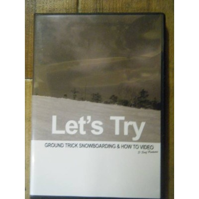 let's tryレッツトライ グラトリ DVDGROUND TRICK HOW TO & DEMO RIDING