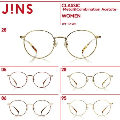 【SALE】【JINS CLASSIC -Metal&Combination Acetate-】メタル&コンビネーションアセテート-JINS(ジンズ)