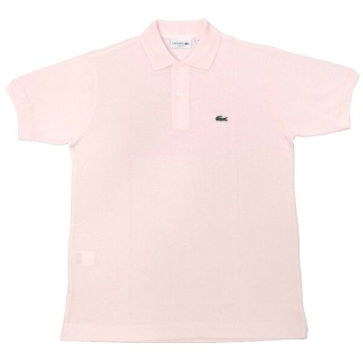 FRANCE LACOSTE(直輸入フランスラコステ) #L1212 S/S PIQUE POLOSHIRTS(半袖 鹿の子 ポロシャツ) FLAMANT(PINK)(T03)