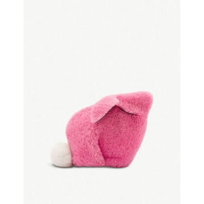 ロエベ loewe レディース バッグ【bunny mini shearling bag】Wild rose