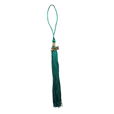 (Green) - Graduation Tassel With 2016 Gold Year Charm And 2017 Silver Year Charm Grad Days(Green)