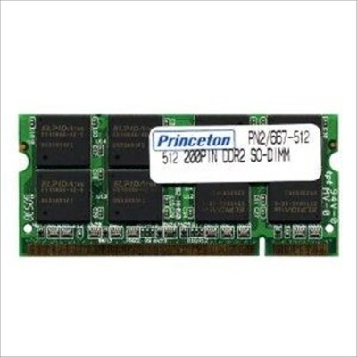 プリンストン princetonApple NOTE用 PC4200 DDR2 200PIN 512MB 2枚組PAN2/533-512X2(PAN2/533-512X2)【smtb-s】