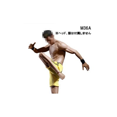 【TBLeague】PL2018-M36A male super flexible seamless body with metal skeleton TBリーグ 1/6スケール シームレス男性ボディ...