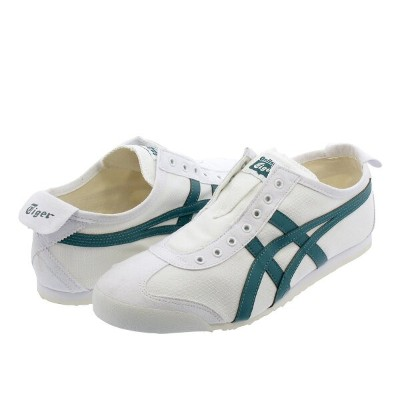 Onitsuka Tiger MEXICO 66 SLIP-ON オニツカタイガー メキシコ 66 スリッポン WHITE/SPRUCE GREEN 1183a360-102