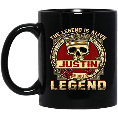 The Legend Is Alive Justin An Endless Legend マグカップ 11オンス