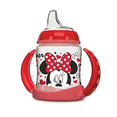 NUK Disney Learner Cup with Silicone Spout, Minnie Mouse, 5-Ounce by NUK