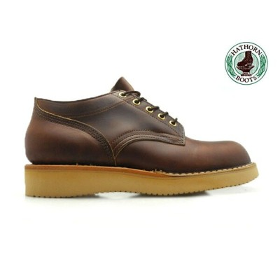 ハソーン HATHORN HATHORN BOOTS RAINIER OXFORD SHOES 204NWC BROWN CHROME EXCEL LEATHER ハソーン HATHORNブーツ...