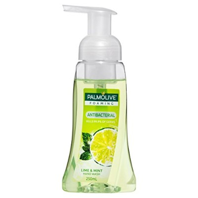 Palmolive Heavenly Hands Foaming Hand Wash Antibacterial Lime 250ml