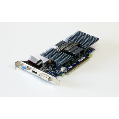 ECS GeForce 210 512MB DVI/HDMI/VGA PCI-Express x16 NSG210C-512QS-H【中古】