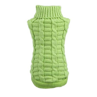 Gyvoxz - pet dog clothes winter chihuahua puppy dog coat Pet Winter Woolen Sweater Knitwear...