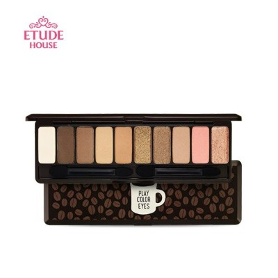 ETUDE HOUSE エチュードハウス プレイ カラー アイズ (Play Color Eyes) インザカフェ in the cafe 1g×10色 送料無料 ゆうパケット送料無料 韓国コスメ...