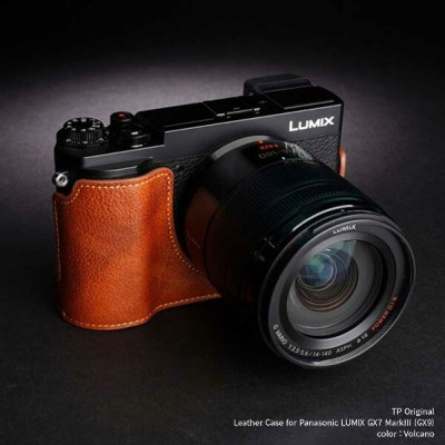 TP Original Leather Camera Body Case for Panasonic LUMIX GX7 MarkIII / GX9 Volcano ボルケーノ パナソニック...