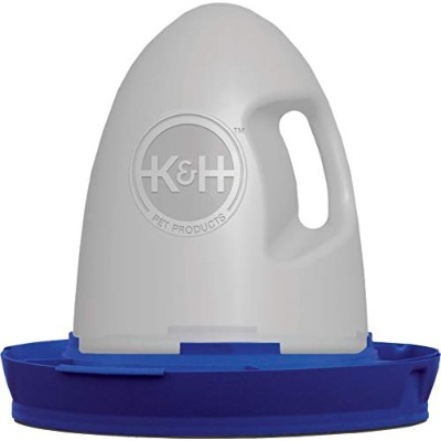 K&H Manufacturing Poultry Waterer 2.5 Gallon Blue by K&H Manufacturing