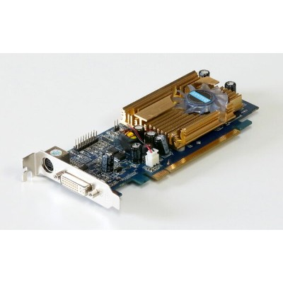 GALAXY GeFORCE 8400GS 256MB DVI/TV-out PCI Express x16 GF P84GS-LP/256D2 LowProfile【中古】
