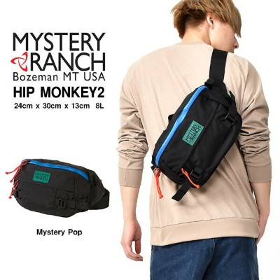 GO OUT 掲載 送料無料 ウエストバッグ ミステリーランチ MYSTERY RANCH ヒップモンキー2 HIP MONKEY2 8L ボディバッグ ヒップバッグ ウエストポーチ バッグ カバン...