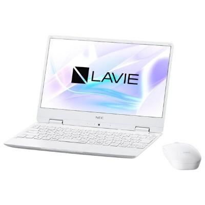 NEC PC-NM750MAW-E1 ノートパソコン KuaL LaVie Note Mobile パールホワイト [PCNM750MAWE1]
