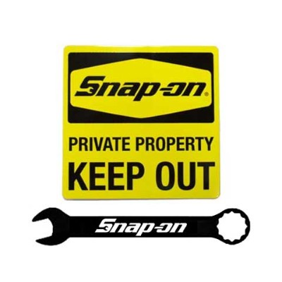 Snap-on(スナップオン)ステッカー「KEEP OUT DECAL」