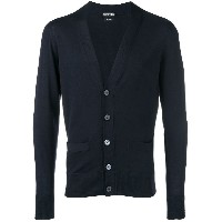 Tom Ford long-sleeve fitted cardigan - ブルー