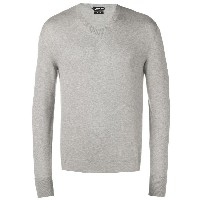 Tom Ford long-sleeve fitted sweater - グレー