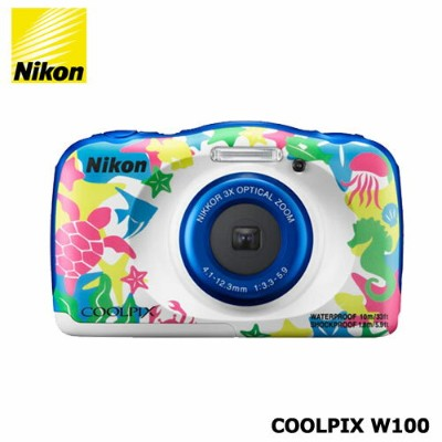 Nicon COOLPIX W100MR マリン