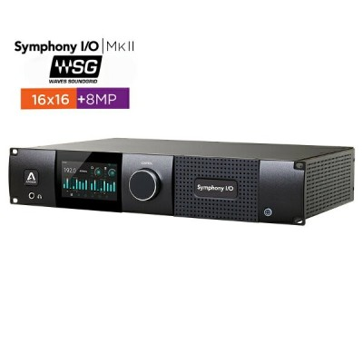 APOGEE Symphony I/O MKII SoundGrid Chassis with 16x16+8MP【国内正規品】