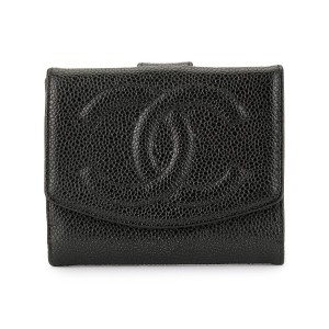 Chanel Pre-Owned ココマーク 財布 - ブラック