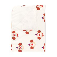Tiny Cottons Clowns blanket - ホワイト
