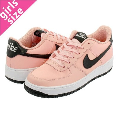 NIKE AIR FORCE 1 LOW GS ナイキ エアー フォース1 LOW GS BLEACHED CORAL/BLACK/WHITE bq6980-600