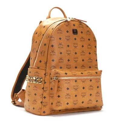 MCM エムシーエム バックパック MMK6SVE38 BACKPACK MED COGNAC CAMEL【送料無料】