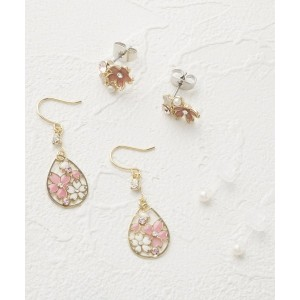 【ITS' DEMO(イッツデモ)】 桜シズクピアスセット(3P) OUTLET > ITS' DEMO > アクセサリー > ピアス ゴールド