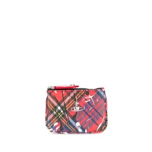 Vivienne Westwood プリント クラッチバッグ - レッド