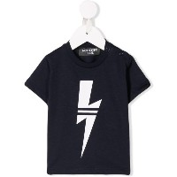Neil Barrett Kids Bolt Tシャツ - ブルー