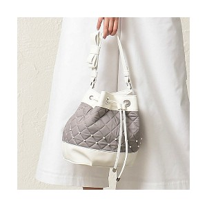 TO BE CHIC/TO BE CHIC  *25ans掲載*デニムキルティングバッグ(W5125133__) グレー 【三越・伊勢丹/公式】 バッグ~~ハンドバッグ