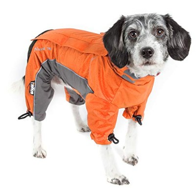 DOGHELIOS 'Blizzard' Full-Bodied Comfort-Fitted Adjustable and 3M Reflective Winter Insulated Pet...
