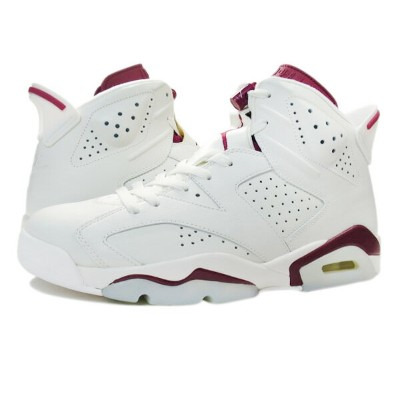 NIKE AIR JORDAN 6 RETRO 【MAROON】 ナイキ エア ジョーダン 6 レトロ OFF WHITE/NEW MAROON 384664-116