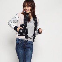 【SALE 72%OFF】コエ koe outlet WOMENS SAILOR BOMBER (ネイビー)
