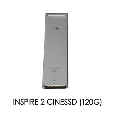 DJI Inspire 2 CINESSD デバイスインタフェース (120G) PART01 FAT32 480GBのCINESSDを使用 最大4.2Gbps 宅急便