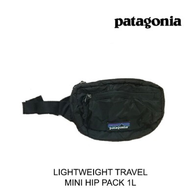 PATAGONIA パタゴニア バッグ ポーチ LIGHTWEIGHT TRAVEL MINI HIP PACK BLK BLACK