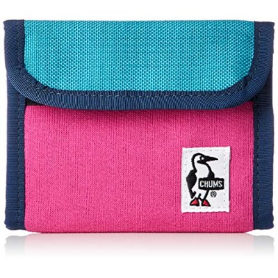 [チャムス] Trifold Wallet Sweat Nylon CH60-2688-R081-00 Rose/TQ Dive